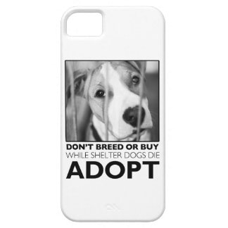 Adopt a Shelter Dog iPhone 5 Cover
