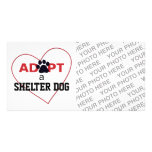 Adopt a Shelter Dog Picture Card