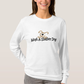 Adopt A Shelter Dog T-Shirt