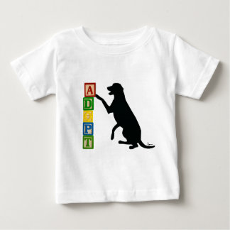 ADOPT a Shelter Pet Baby T-Shirt