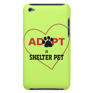 Adopt a Shelter Pet Barely There iPod Cases