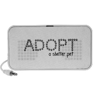 Adopt a Shelter Pet Paws Mini Speaker