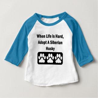 Adopt A Siberian Husky Tees