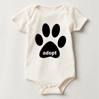 Adopt Baby Bodysuit