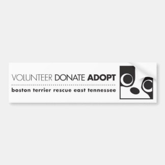 Adopt Bumper Sticker