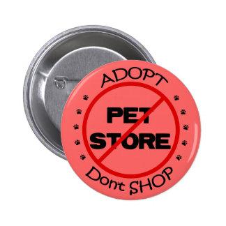 Adopt Don t Shop Button