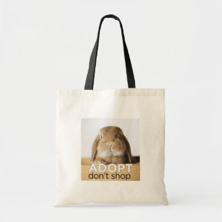 ADOPT DONT SHOP TOTE