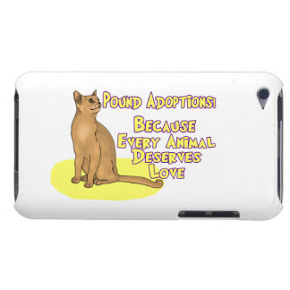 Adopt From The Pound Barely There iPod Cover