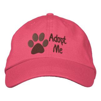 Adopt Me PawPrint Animal Adoption Embroidered Hat