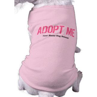 ADOPT ME Pink + Add Your Text Shirt