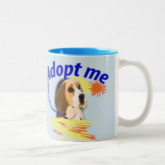 Adopt me Two-Tone coffee mug