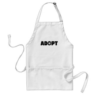Adopt Rescue Dog Apron
