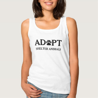 """Adopt Shelter Animals"" Tank Top"