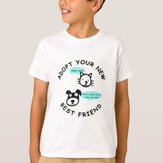 Adopt Your New Best Friend T-Shirt