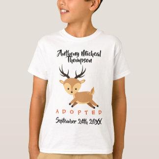 Adopted Deer Woodland Adoption - Custom Name Shirt