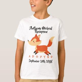 Adopted Fox Woodland Adoption - Custom Name Shirt