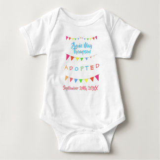 Adopted from Foster Care - Custom Name Shirt