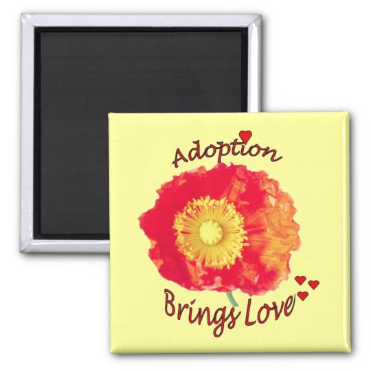 Adoption Brings Love Magnet