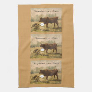 Adoption Congratulations Tea Towel