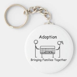 Adoption Crib Keychain