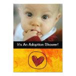 "adoption day party invitation 5"" x 7"" invitation card"