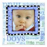 """adoption day party invitation 5.25"""" square invitation card"""