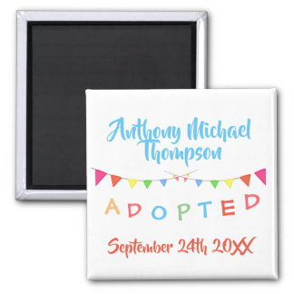 Adoption From Foster Care Party Magnet
