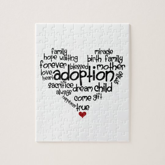 Adoption Jigsaw Puzzle