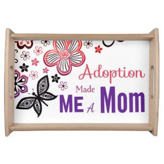 Adoption Made Me a Mom Serving Tray