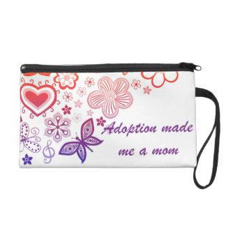 Adoption Made Me a Mom Wristlet