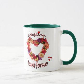 Adoption Means Forever Coffee Mug