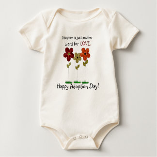 adoption onsie baby bodysuit