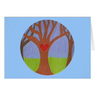 Adoption Tree Congratulations Card