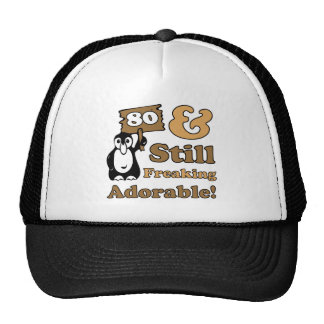 Adorable 80th Birthday Hat