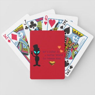 Adorable Alien Playing Cards