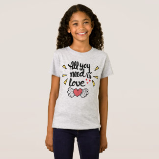 Adorable All You Need is Love | Jersey Shirt
