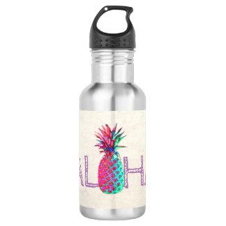 Adorable Aloha Hawaiian Pineapple 532 Ml Water Bottle