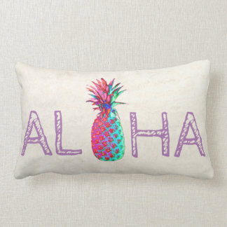 Adorable Aloha Hawaiian Pineapple Lumbar Cushion