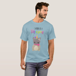 Adorable and Cute Cat Unicorn T-Shirt