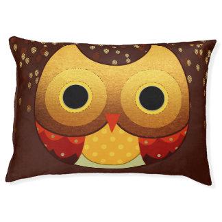 Adorable Autumn Owl Pet Bed