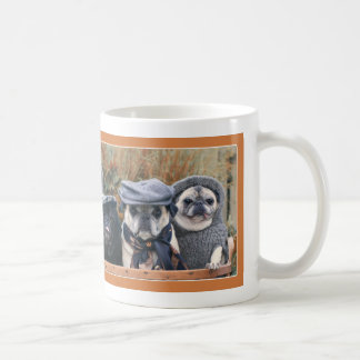 Adorable Autumn Pug Mug by Pugs and Kisses