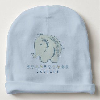 Adorable Baby Elephant | Personalized Baby Beanie