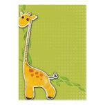adorable baby giraffe background