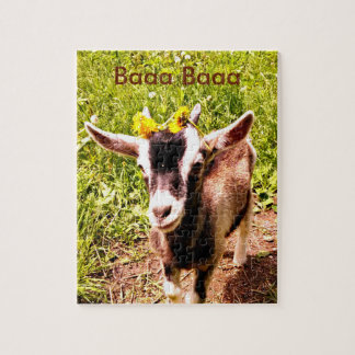 Adorable Baby Goat Jigsaw Puzzle