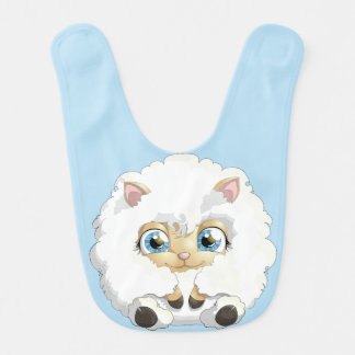 Adorable Baby Lambs  CHOOSE YOUR COLOR Bibs