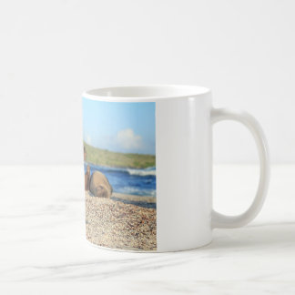 Adorable baby sea lion Galapagos Islands Coffee Mug