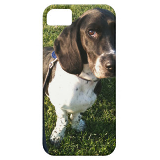 Adorable Basset Hound Snoopy Barely There iPhone 5 Case