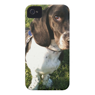 Adorable Basset Hound Snoopy iPhone 4 Cover