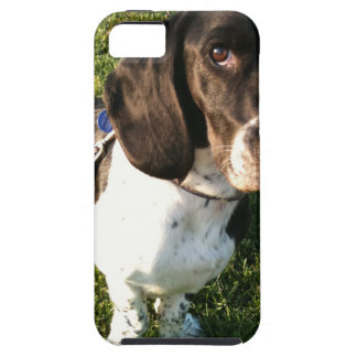 Adorable Basset Hound Snoopy iPhone 5 Cover