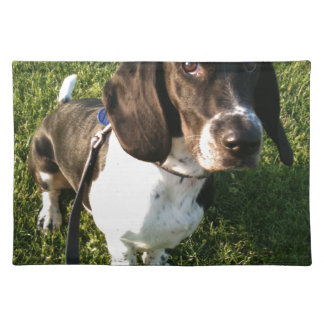 Adorable Basset Hound Snoopy Placemat